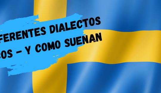 Existe una gran variedad de dialectos suecos.