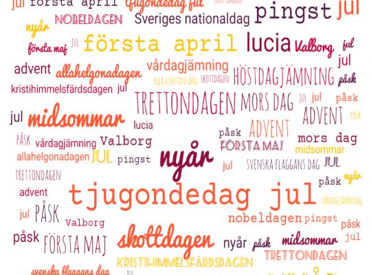 las fiestas principales de Suecia