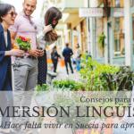 Consejos para una inmersión lingüística