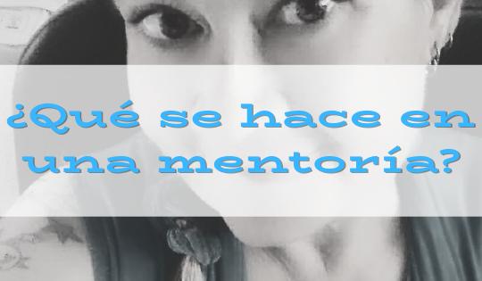 clases de mentoría