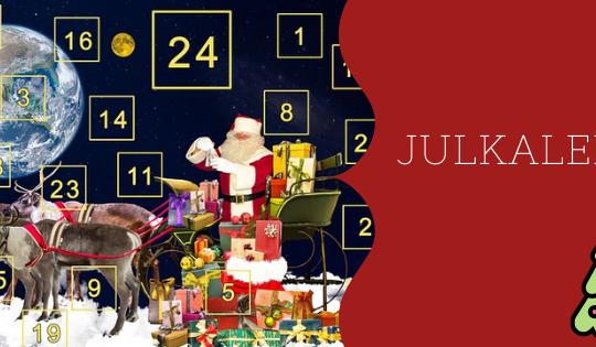 El calendario de Navidad sirve para llevar la cuenta de los días.