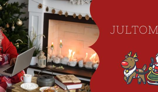 El 24 de diciembre viene Jultomten!, el tomte de ropa roja.