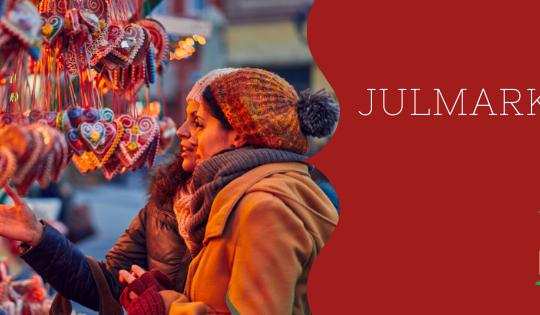 Visitar los mercados navideños forma parte de las tradiciones navideñas en Suecia.