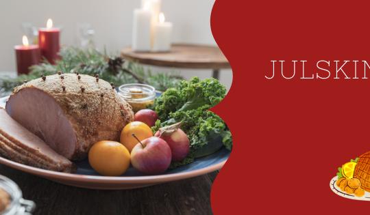 El jamón gratinado no puede faltar en la mesa de Navidad en Suecia.