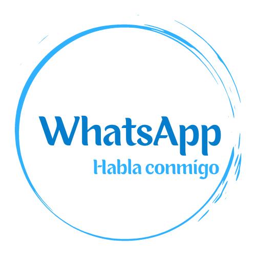 Mándame un mensaje por WhatsApp