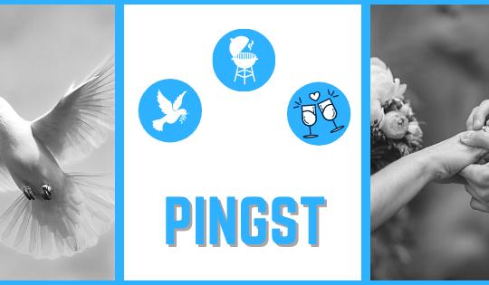 Pingst - el fin de semana de las bodas